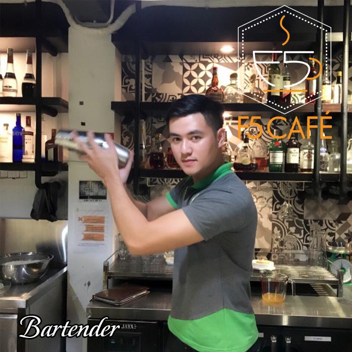 Bartender f5cafe Tuấn Mậm