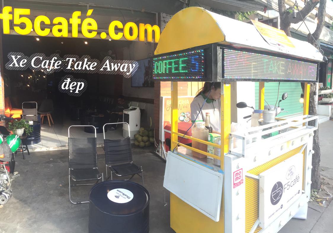 Top 12 mẫu xe Cafe Take Away đẹp nhất